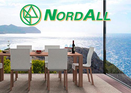 nordall srl sassari profili in alluminio per serramenti