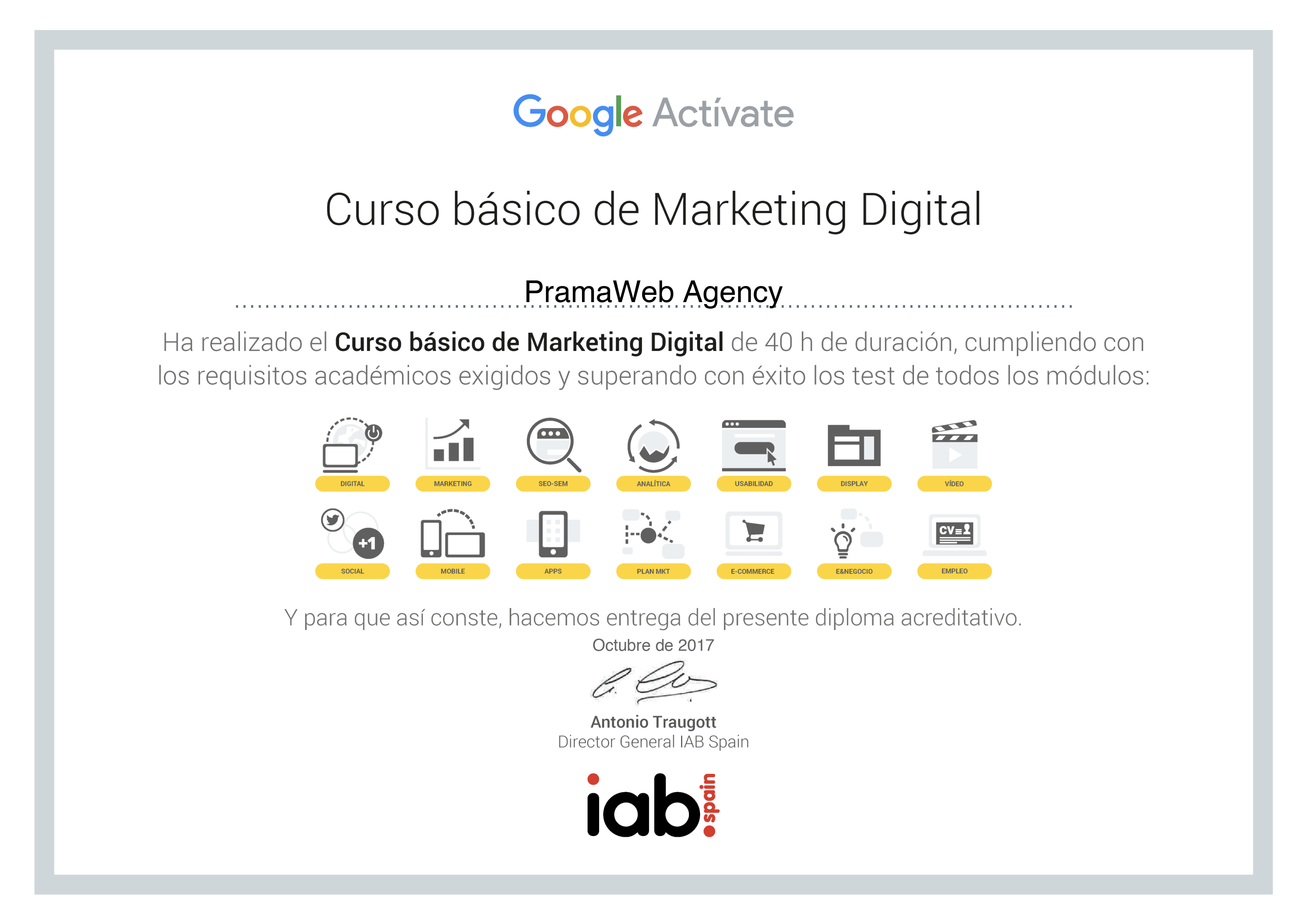 1) Curso Bàsico de Marketing Digital