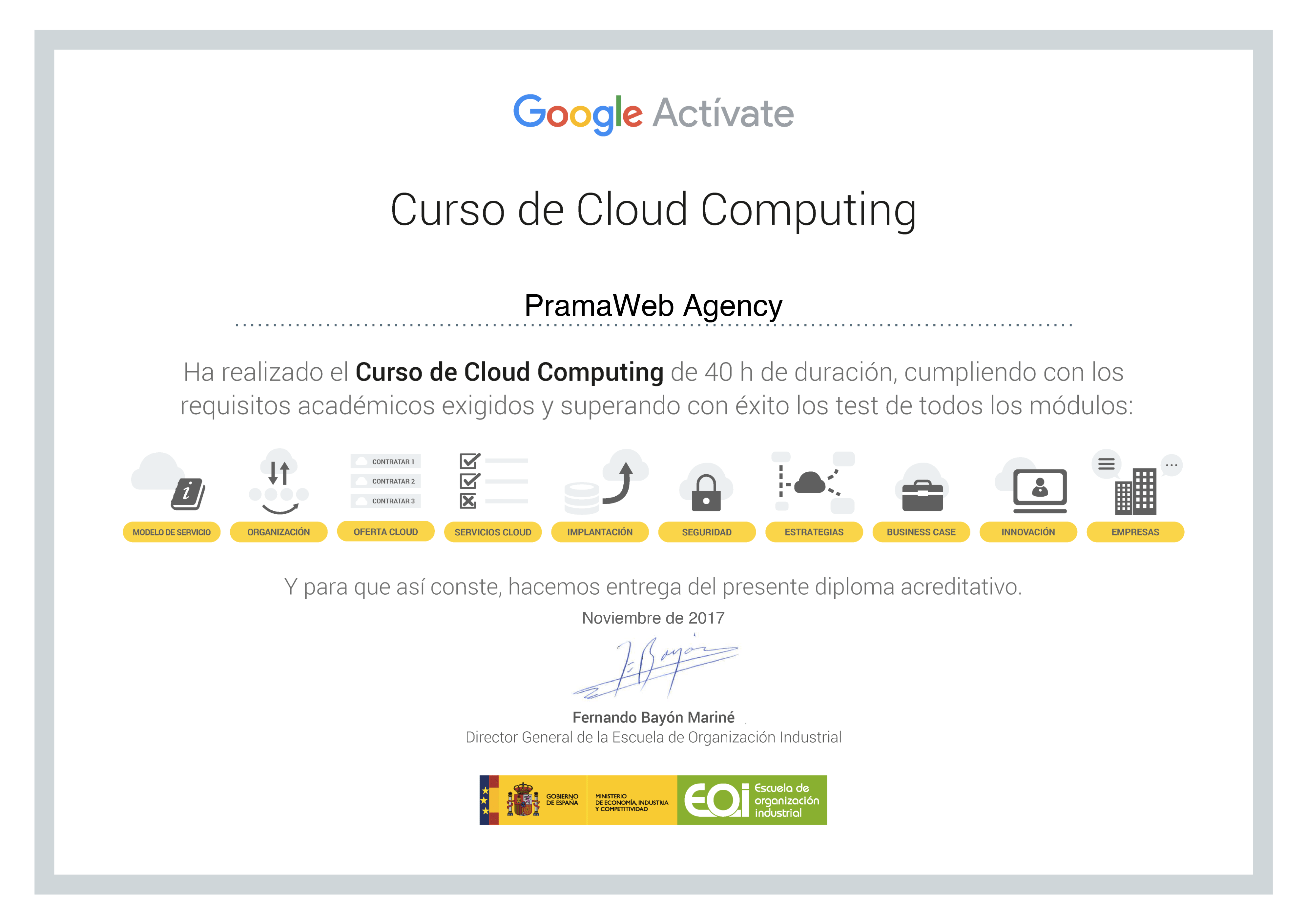 5) Curso Cloud Computing